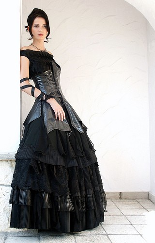 black wedding dresses pictures. Black Wedding Gowns?